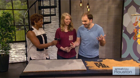 Gray House Studio Features on Great Day Houston September 2015