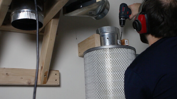 HARBOR FREIGHT DUST COLLECTOR UPGRADE W/ SUPER DUST DEPUTY XL