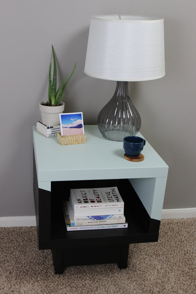 Pleasing Lack Side Table Ikea Hack Gray House Studio Home Interior And Landscaping Transignezvosmurscom