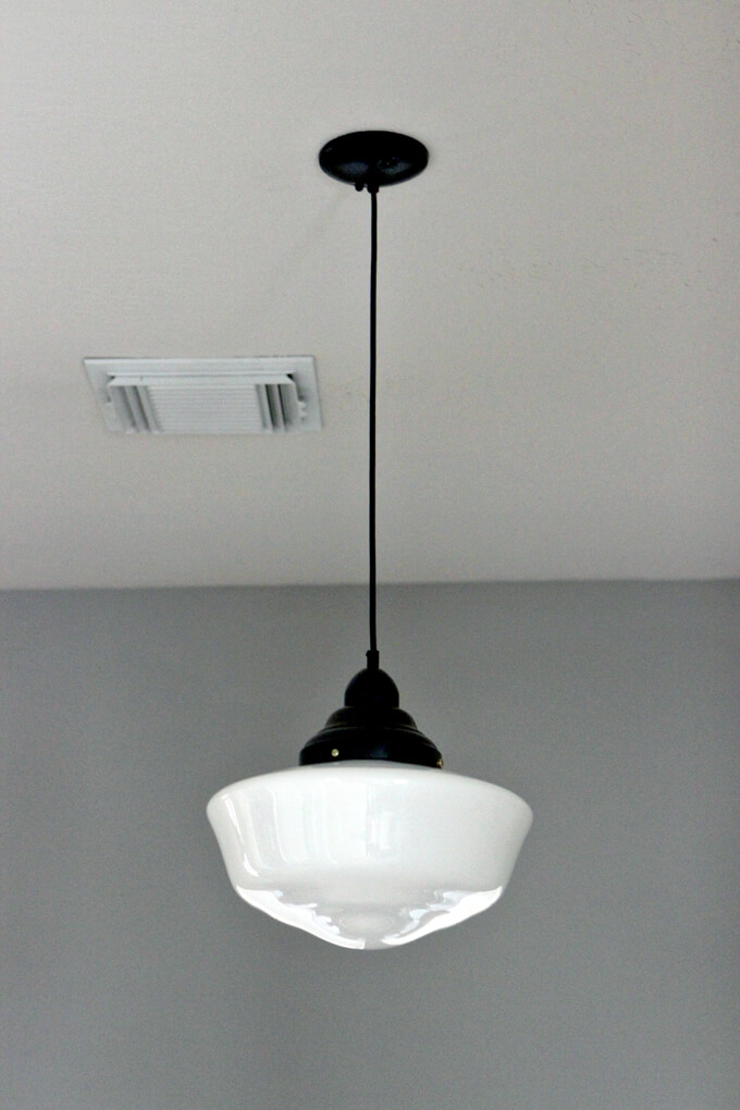 Schoolhouse Pendant Light Solution Gray House Studio