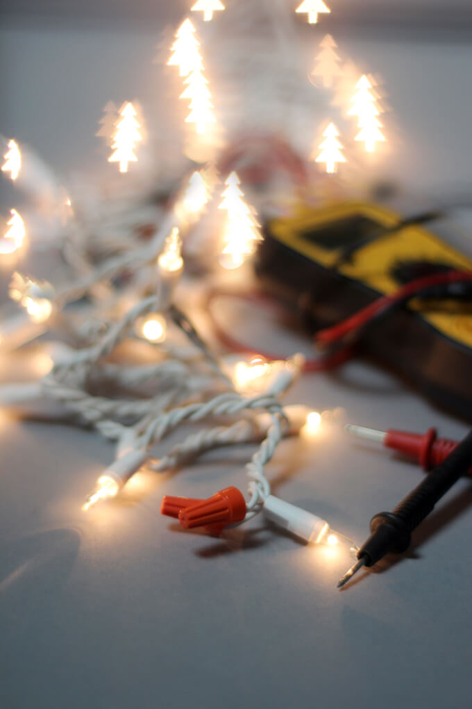 How To Shorten String Christmas Lights Gray House Studio