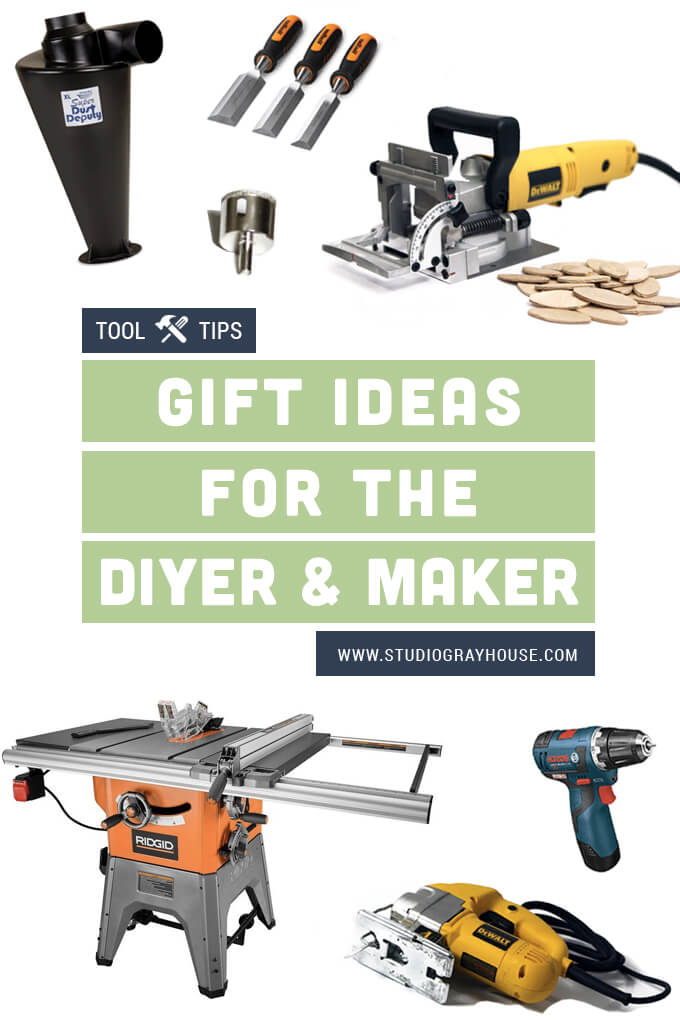 Gift Ideas For the DIY-er and Maker