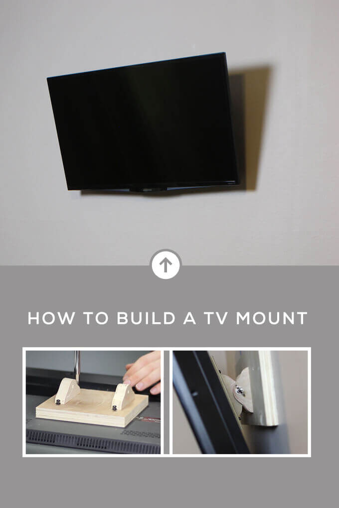 How To Build A Tv Wall Mount Gray House Studio