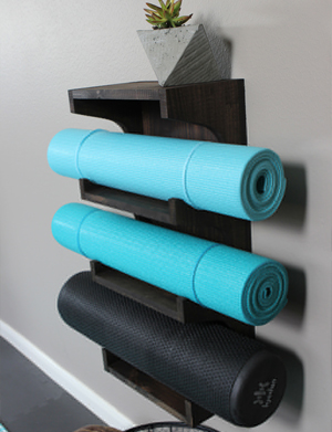 Yoga Mat Rack