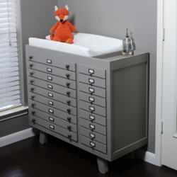 DIY Baby Changing Station Video