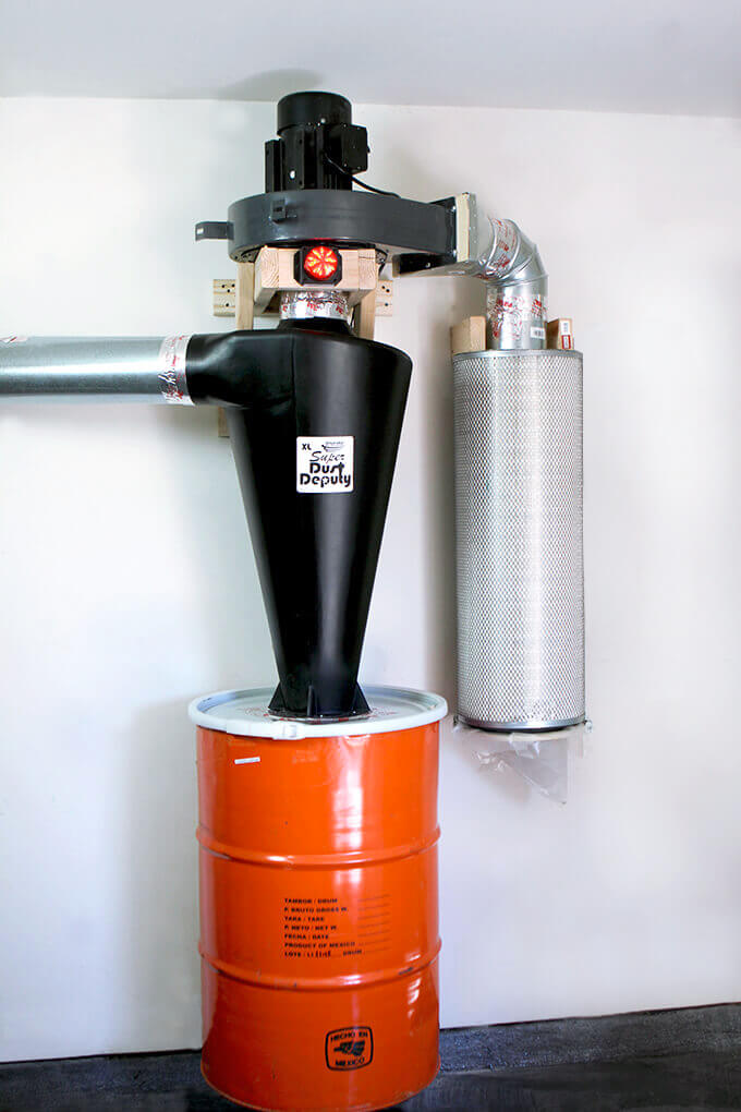 harbor freight dust collector upgrade w