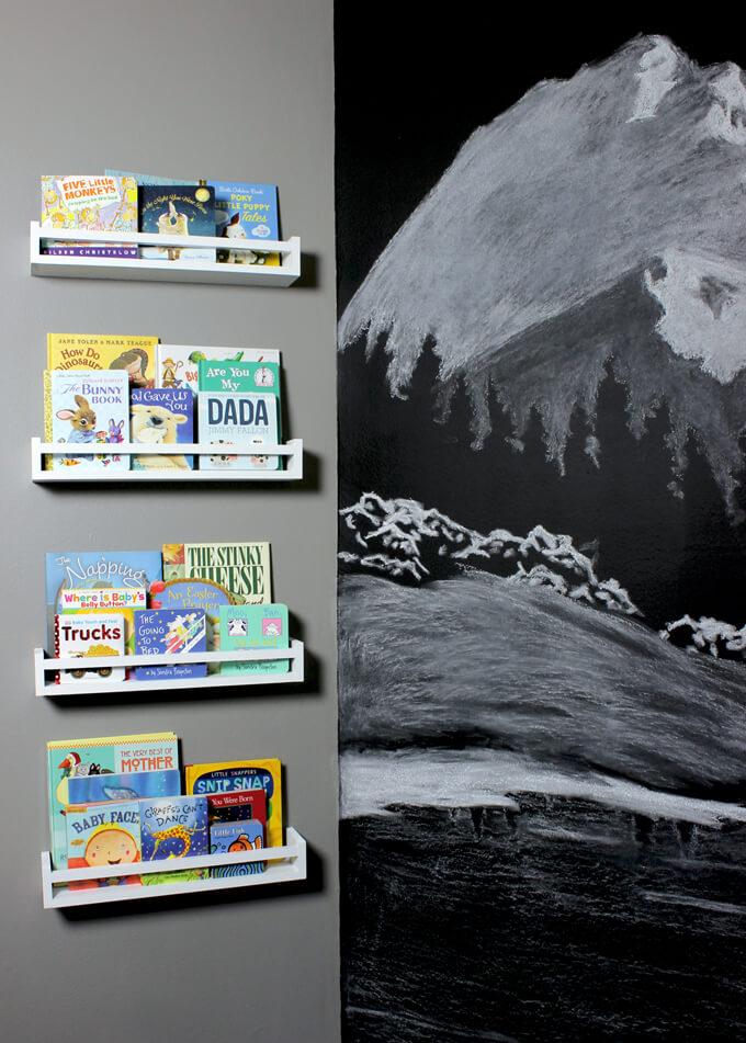 Nursery Bookshelves Floating Shelves