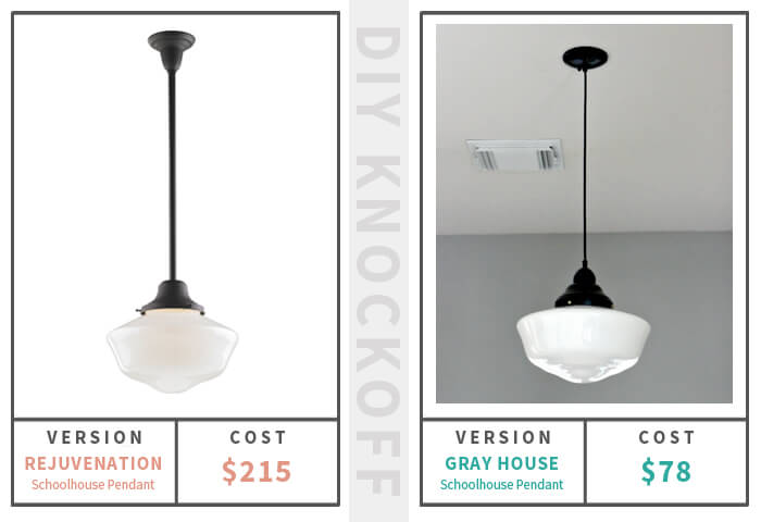 Schoolhouse Pendant Light Solution