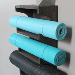 how to build a yoga wall